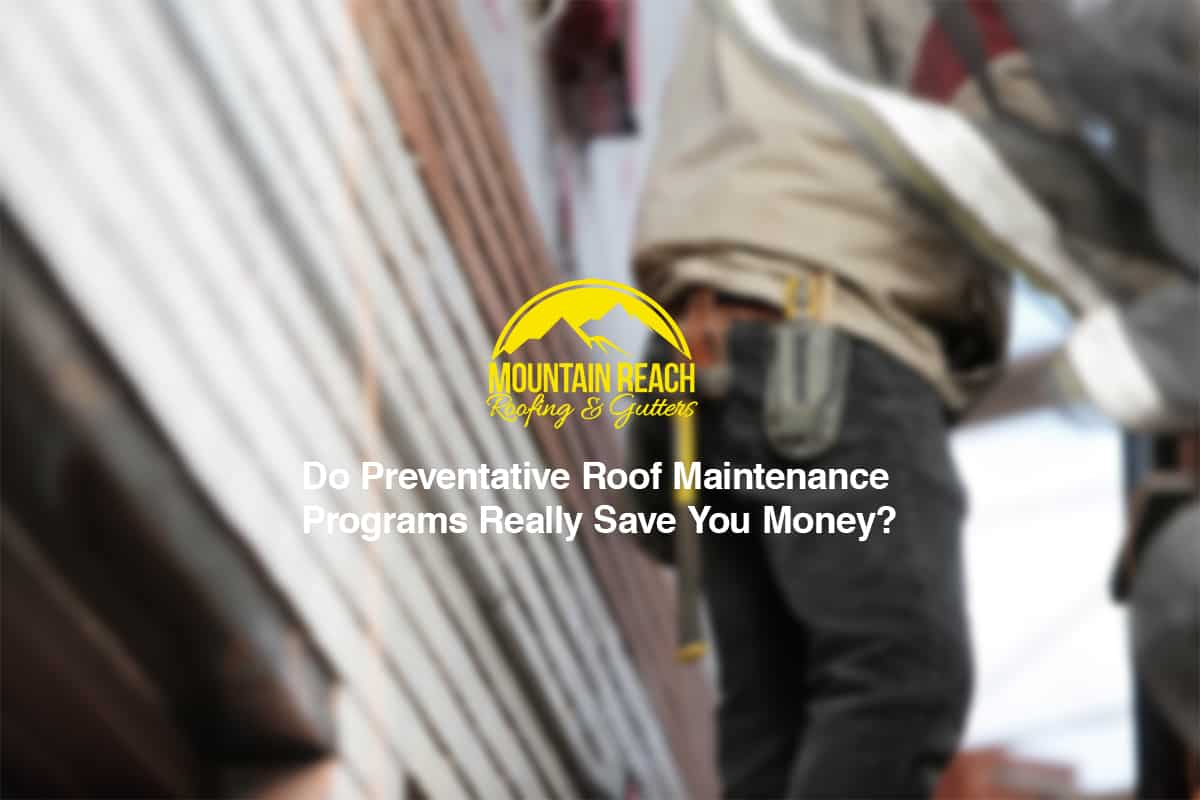 Roof Maintenance Programs