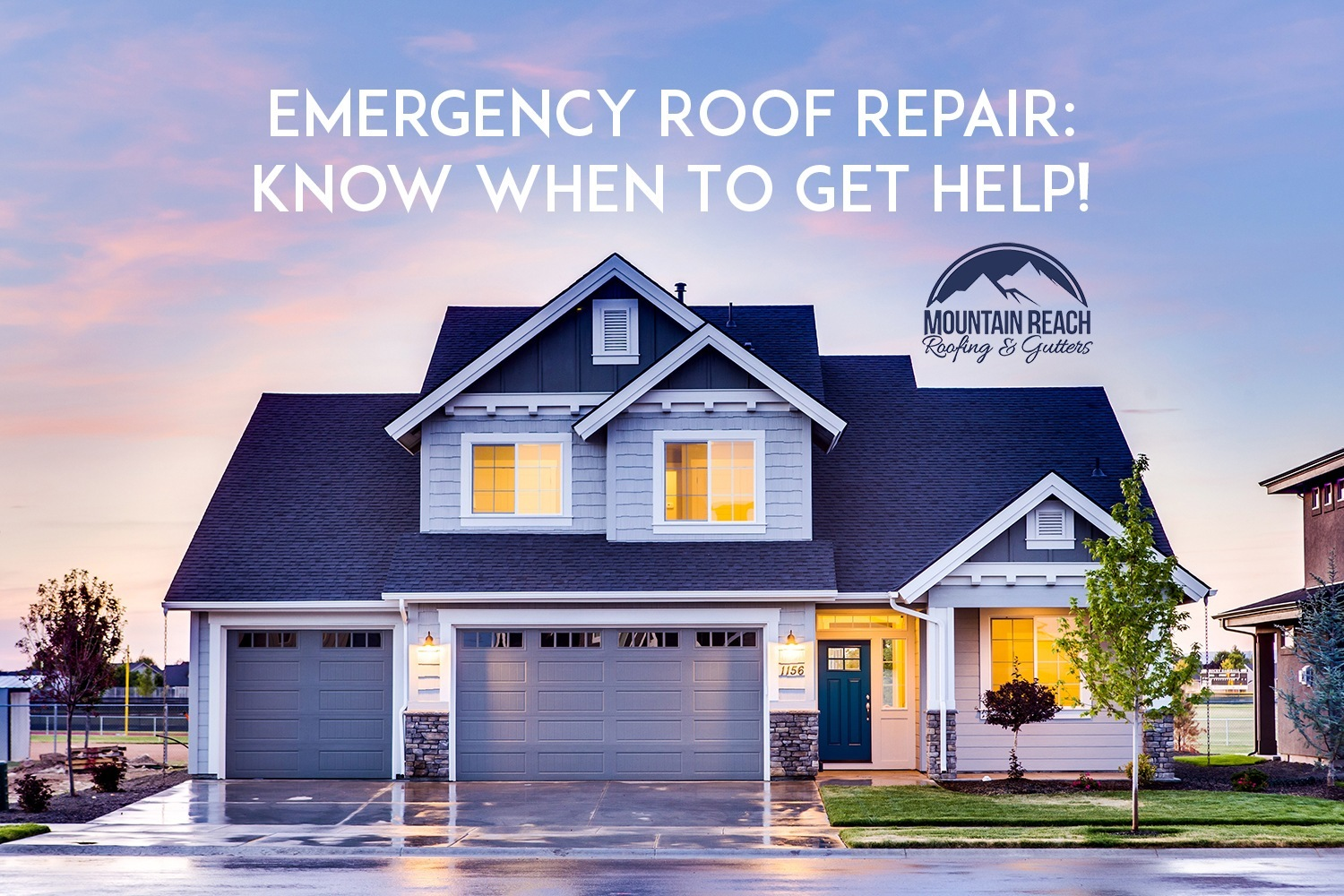 Emergency Roof Repair Know When To Get Help