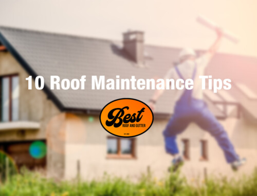 10 Roof Maintenance Tips