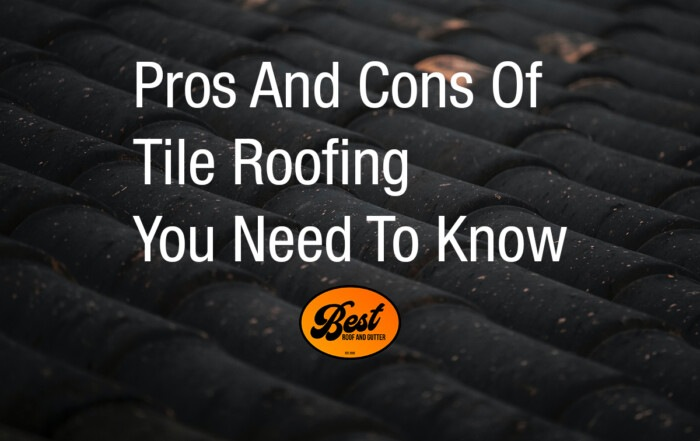 Pros And Cons Of Tile Roofing You Need To Know