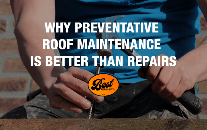 Why Preventative Roof Maintenance Is Better Than Repairs