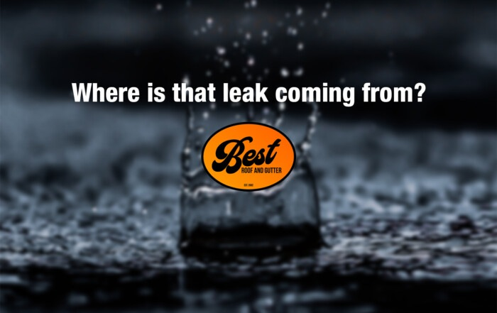 Where is that leak coming from?