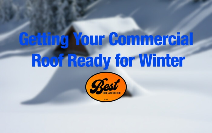 Getting Your Commercial Roof Ready for Winter