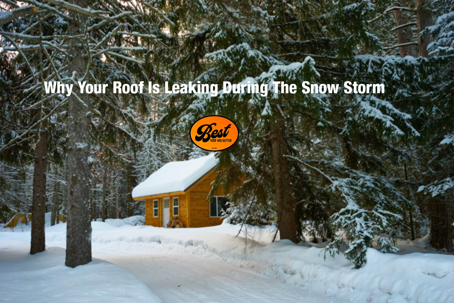 Why Your Roof Is Leaking During The Snow Storm