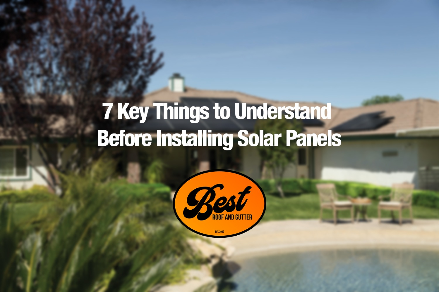 7 Key Things to understand Before Installing Solar Panels