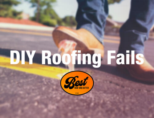 DIY Roofing Fails