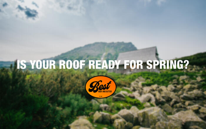 Is Your Roof Ready For Spring