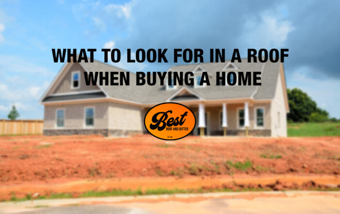 What to Look for in a Roof When Buying a Home